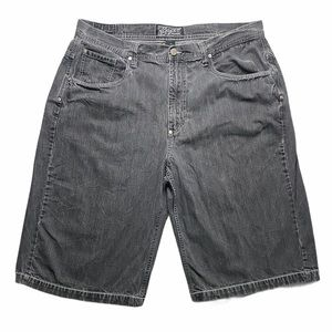 ENYCE Black Denim Shorts | Men's 40x15